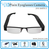 HK Free shipping Real HD 720P pinhole eyeglasses camera ,Plain Eyeglasses Camera,wireless mini digital camera With 4GB TF card
