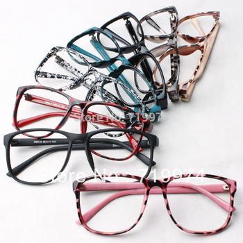 Trendy Women leopard print glasses frame ultra-light eyeglasses frame decorate eyes ...