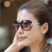 Brand New 2014 Women's Elegant Sunglasses Fashion Gradient Sunglass Metal Crystal Decoration Glasses For Women Sun Eyewear UV400