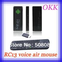 RC13 Mic Speaker air mouse keyboard + NEO G4 MINIX Dual Core Android 4.2.2 Mini PC TV BOX RK3066 A9 1GB RAM 8GB ROM