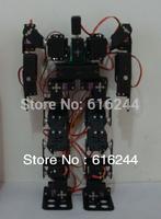 17DOF Biped Robot Educational Robot Kit 17 Degrees Of Freedom Humanoid / Humanoids Walking / feet Servo Bracket Kit( no servos)