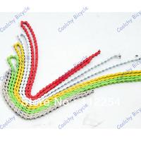 Free Shipping wholesale bike chain,10 Pcs,Colorful Bicycle Chain,Bike ChainStainless Steel,Fixed Gear Bike/Track Bike