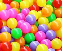 100pcs 5.5cm Colorful Ball Fun Ball Soft Plastic Ocean Ball Baby Kid Toy Swim Pit Toy