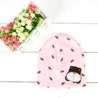 tz008 hats wholesale 10 Pcs 7color  Love The Boys And Girls Bear Cotton Crochet Baby Hat /crochet hats/crochet newborn hat
