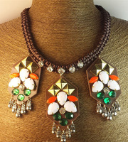 N00271 2013 New Arrival Free Shipping (Min order $10) fashion vintage statement Necklace fashion for Exaggerated jewelry