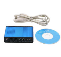 2013 new 6 Channel 5.1 Optical Audio USB Sound Card S/PDIF Free Shipping