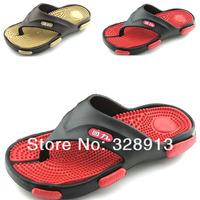 2014 summer shoes for men Male  flip flops  massage  sandals slippers EVA  waterproof   beach slippers