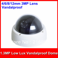 Security HD IP Camera,1.3MP Low Lux 4/6/8/12mm Len H.264 Vandalproof ONVIF POE Optional IP Camera/Good nightvision/Support dahua