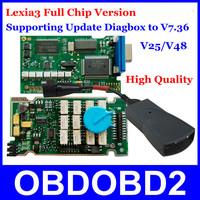 2014 Newest Full Chips Lexia PP2000 Diagnostic Tool Citroen Peugeot PSA XS Evolution Lexia3 V48/V25 Diagbox Supports V7.36