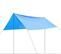 Canopy tent sun shelter sun shade waterproof camping cushion survival shelter (2.9*3) 1pc