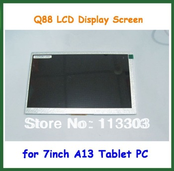 7 inch Q8 Q88 LCD  Display Screen for 7 inch Allwinner A13 Q8 Q88 Tablet Replacement Screen