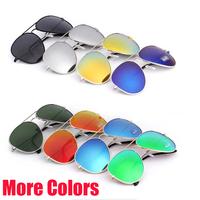 New 2014 Coating Sunglasses Men Pilot  Glasses Brand Designer Pilot Sport Sunglasses Women Shades Sun Glasses