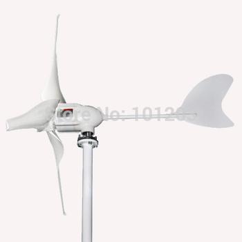 600w Wind Turbine 12V/24V mini low RPM permanent magnetic generator on sale
