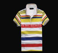 wholesale Fashion brand T Shirt Men 2014 Summer For Mens Casual T Men's T-Shirt Man Sport Tshirt Plo M-XXL Free Shipping