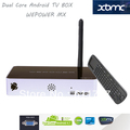 Free RC12+MX Dual core A9 Amlogic 8726-MX Android tv box smart tv box  3D supporting DLNA XBMC 1GB 4GB Android 4.2 with VGA Port(China (Mainland))