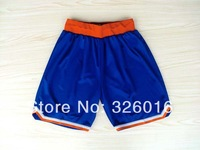 Free Shipping New York 2013 New Material Rev 30 Basketball Shorts,Embroidery and Sewing logos,Size S--XXL