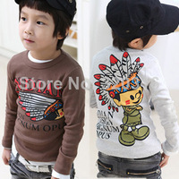 Children's clothing 2015 spring male female child child long-sleeve T-shirt 39j  KTX18A20