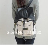 2013 Hot selling casual korean style all-matchs canvas chool backpacks for girls / ladies / womens travel bag free shipping