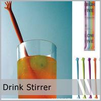 50 X Help Me Stirrer Stir for Kitchen & Bar Cocktail Drink  Free shipping  50 pcs / lot