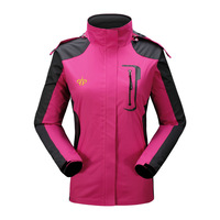 2014 New brand Lady Outdoor waterproof breathable climbing mauntain jacket coat Women sportswear hunting clothes #15987