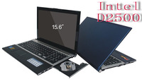 "Free shipping 2013 Newest 15.6"" Notebook Computer Laptop with Intel D2500  1.86Ghz Dual Core 4GB  500GB wifi Webcam DVD-RW"