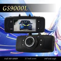 "Car DVR Novatek GS9000L Full HD 1080P DVR Recorder 2.7""LCD Support Night Vision Motion Detection G-sensor HDMI Dash Cam"