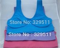 180 Pcs /ot Wholesale 6 Color +6 Size Ahh Bra As On TV Rhonda Shear Ahh Sport Yoga Seamless Leisure Bra Genie Bra (No BoX )