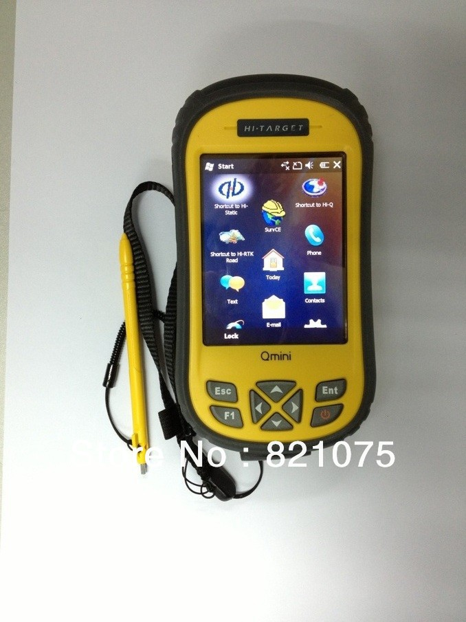 Free Shipping Handheld Hi-speed Outdoor Rugged IP65 GIS Dual GPS Navigation System Qmini M3 Built-in Mobile Phone RFID Optional(China (Mainland))