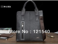 Free Shipping Italian designer Brand FEGER 100% Genuine Leather shoulder Messenger Bag for men fashion business bag