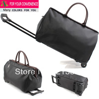 Trolley luggage bag vintage fashion trolley luggage male Women waterproof portable light luggage travel bag