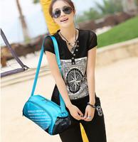 New Woemen Men Fashion Sport Swimming Beach Dance Travel Patchwork Handbag Portable Bag Large Capacity Waterproof