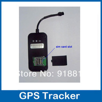 Free Shipping mini  quad bands car gps tracker H02/ car gprs the tracker GSM850/900/1800/1900