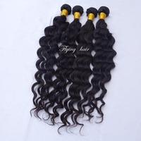 queens hair products virgin Peruvian Deep wave Hair weave 2 bundles Free shiping mocha hair