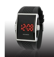 wholesale simple fashion Led  watches for ladies and men free shipping