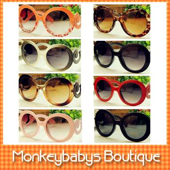Fashion Brand  Women's Sunglasses  Designer Baroque vintage leopard print sunglasses Women Ladies' Glasses Multi-color #JS007