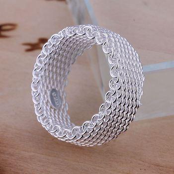 Бесплатная доставка 925 серебряное кольцо изысканные мода чистая кольцо женщины и ...