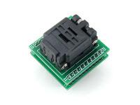 QFN20 TO DIP20 MLF20 MLP20 Plastronics QFN IC Programming Adapter Test Burn-in Socket 4 * 4 mm 0.5 Pitch + Free Shipping