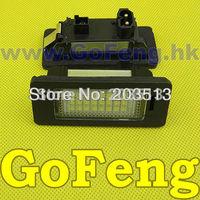 2pcs/lot white Error Free Led License Plate Light For BMW E82 E88 E90 E90N E91 E92 E93 M3 E46 CSL  E60 E60N E61 E61 E70 E71