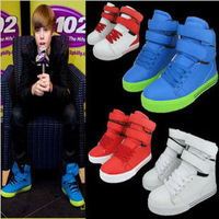 2013 new arrival Hot-selling !!   high-top skateboard male women's lovers high hip-hop shoes free shipping