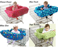 Baby kids child infant toddler children shopping cart cover/grocery/trolley cart cover/shopping trolley seat cover/cushion/pad