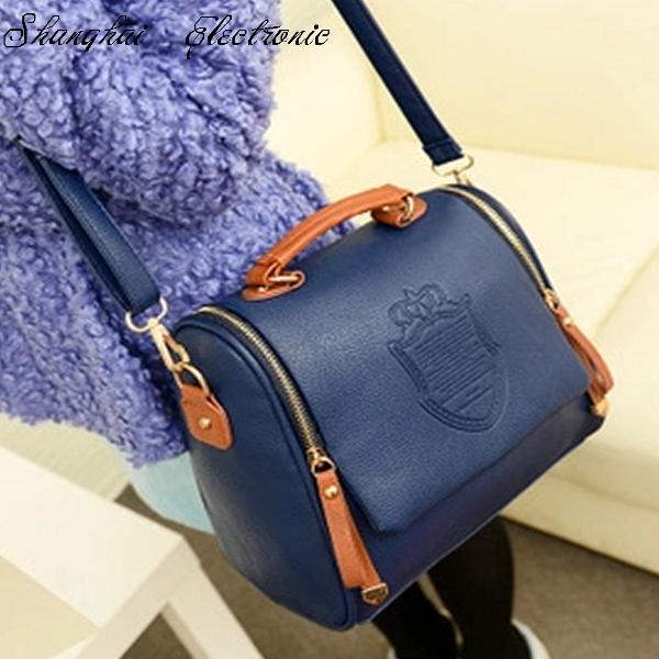 HOT! 2013 autumn fashion one shoulder women handbag women leather handbag casual free shipping(China (Mainland))