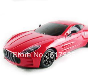 RC car,AstonMartin ONE-77 with light Sports car drift,car modle 1:16,rc toy child gift birthday gifts
