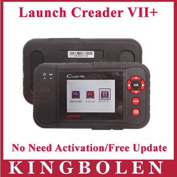 Launch Distributor 2014 Newest Release Professional Automobile Fault Code Reader Original Launch Creader VII+ Update by Internet