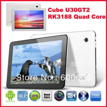 "Hot Cube U30GT2 RK3188 Quad Core 1.8ghz Cortex A9 Tablet PC 10.1"" FHD Retina IPS Screen 2GB RAM Camera 5.0MP AF"