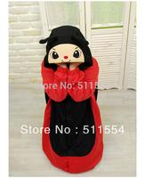 Free Shipping Cute Adult Polar Fleece Ladybug Onesie Winter Animal Pyjamas China Fleece Suppliers High Quality  One Piece Kigu