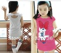Children&#39;s clothing wholesale short white ,gary .red  kids girl clothes(China (Mainland))