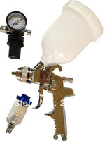 W-960   high quality spray gun kit gravity stainless steel 600ml cup hvlp spray gun