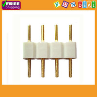 Free Shipping! 20PCS 4-Pin Connector for 3528 5050 RGB SMD LED Strip Light