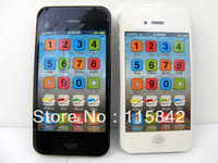 Free shipping-Yphone 4S Toy Learning Machine Kids Mobile Phone,YPhone4s intelligence/educational toys and gifts 50PCS