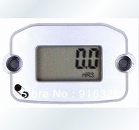 Waterproof Digital Hour meter tachometer tach digital hour meter for 1or2 or 4 stroke gasoline engine